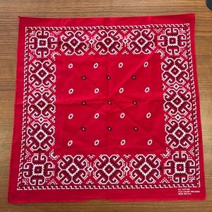 All Cotton Fast Color RN 13960 Made In USA Bandana